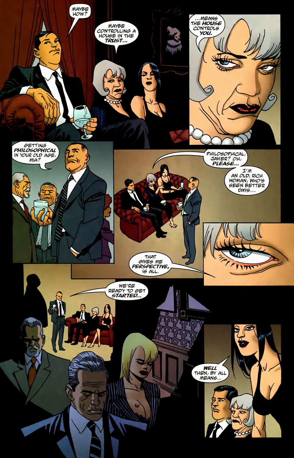 Read online 100 Bullets comic -  Issue #70 - 9