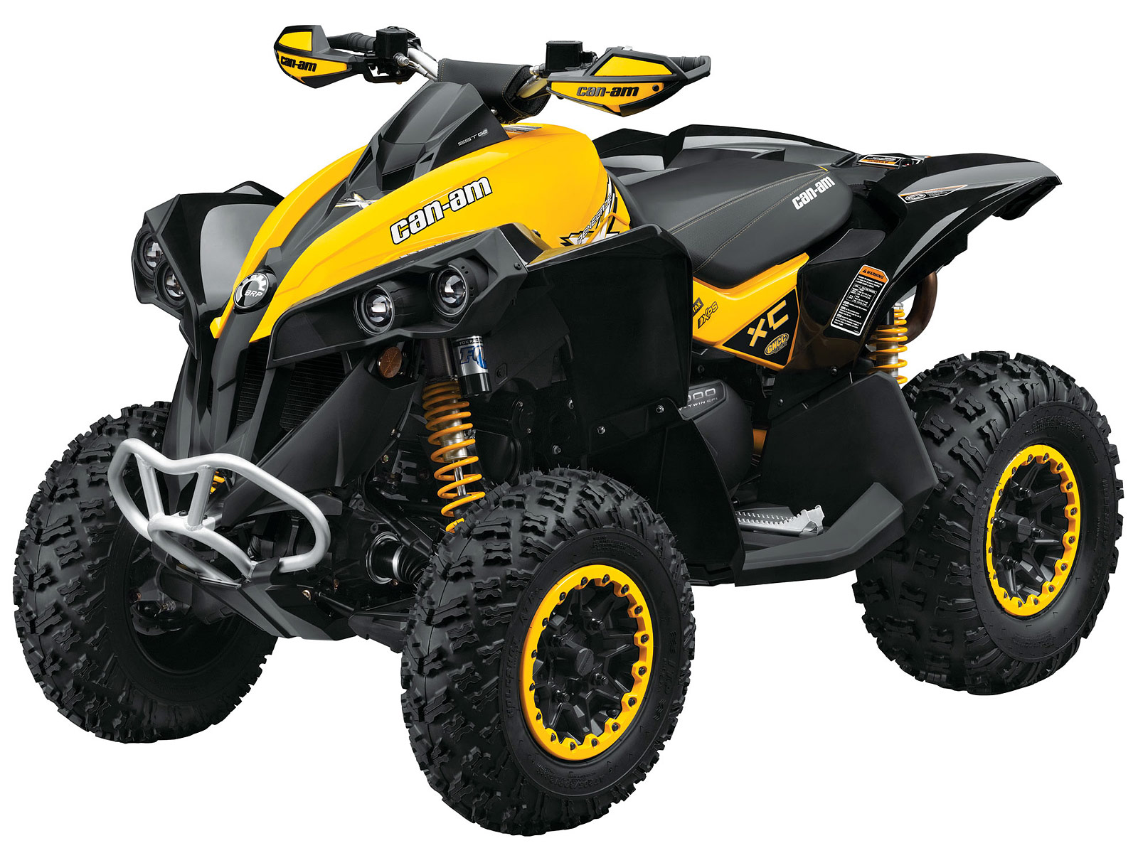 2013 Can Am Renegade 800 >> Usa - Canada Specifications 2013 Can-Am Renegade