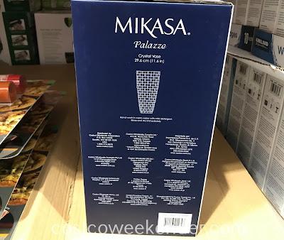 Costco 1229088 - Mikasa Palazzo Crystal Vase: elegant and classy