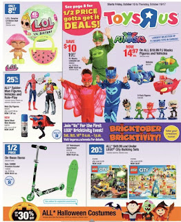 Toys R Us Ontario Flyer October 13 - 19 ,2017