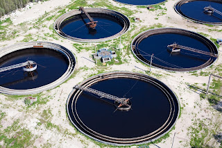 water treatment plant sewage treatment plant