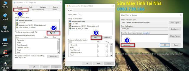 Hướng dẫn sửa lỗi máy tính không lấy được dữ liệu qua mạng Lan