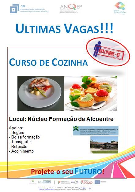 Curso de cozinha em Alcoentre