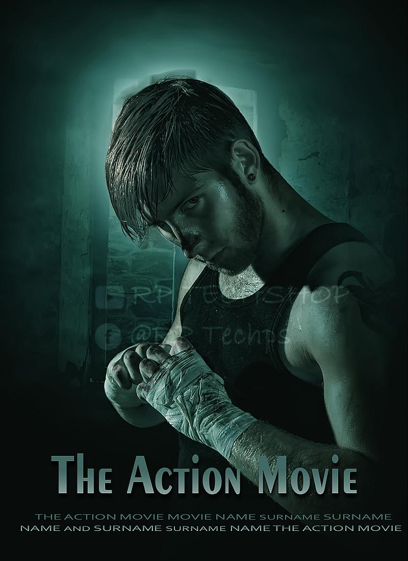 Movie poster photoshop