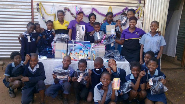 Diakonia OVC Project - Hollywoodbets Donation