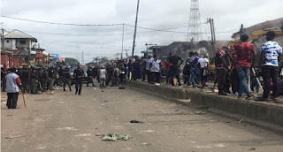 Panic As Yoruba & Hausa Clash In Lagos