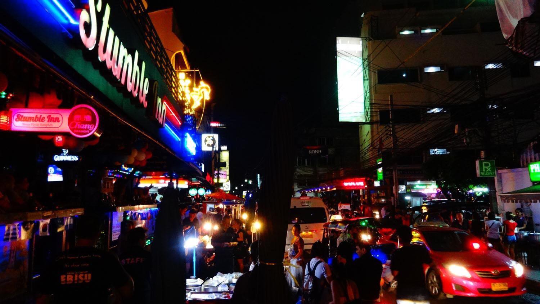 Thế giới về đêm ở Bangkok