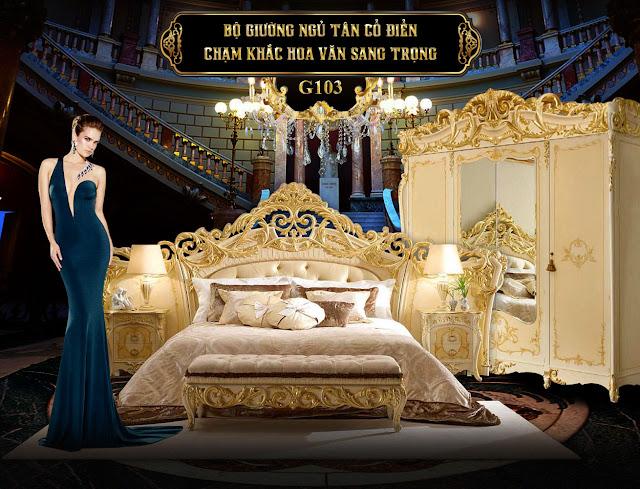 Giường ngủ G103