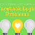 Facebook Homepage Login Error