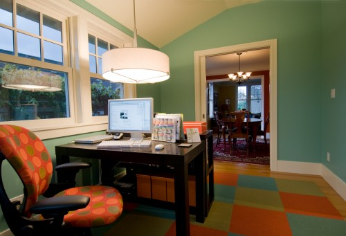 Home Interior Designs: Home Office Lighting Ideas