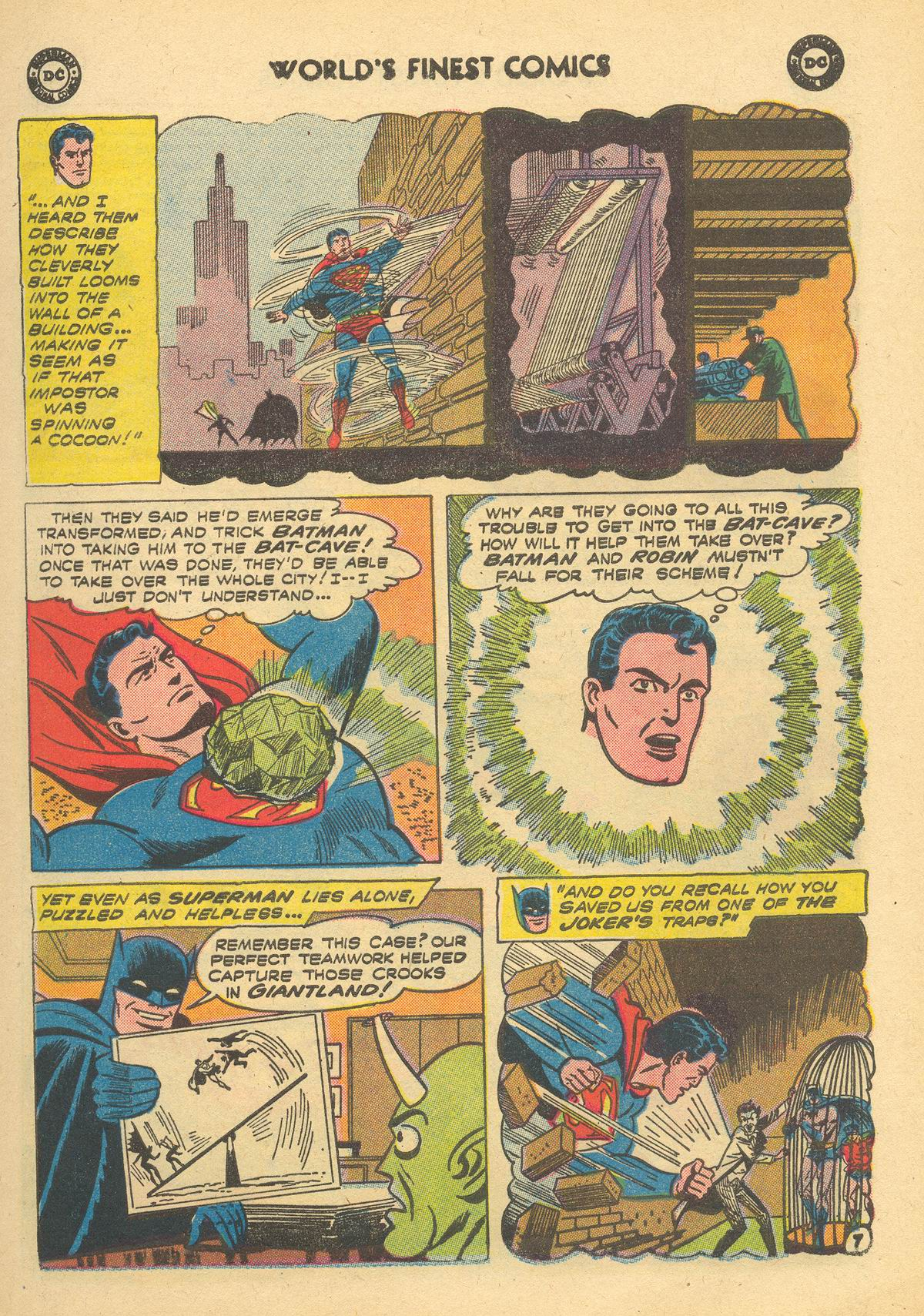Read online World's Finest Comics comic -  Issue #105 - 9