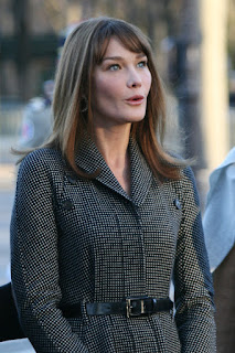 Carla Bruni met Nicolas Sarkozy just three months before they were married