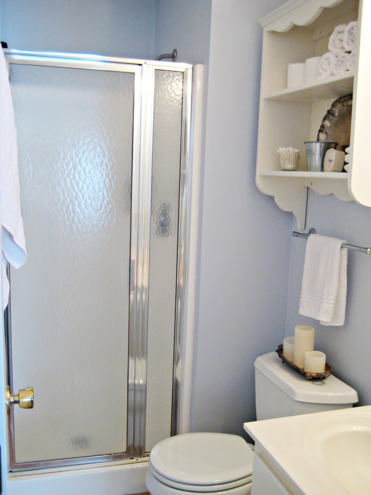 Cost To Add Small Bathroom To House: Happy At Home: Adding Storage To A Small Bathroom