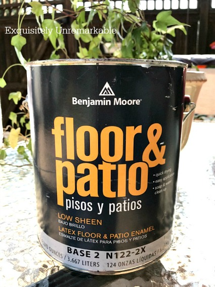 Benjamin Moore Floor And Patio Enamel Paint | How To Paint Cement