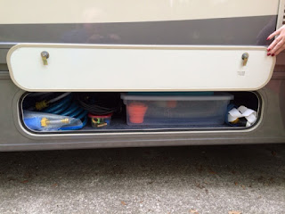 Winnebago Fuse 23a drivers side outside storage