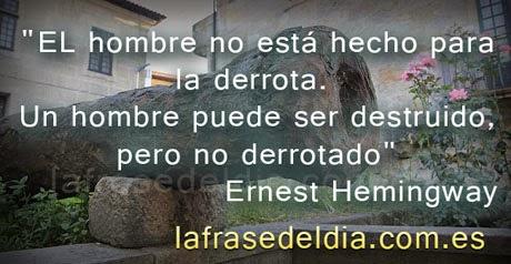 frases famosas de Ernest Hemingway