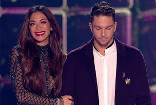 X Factor winner Matt Terry and Nicole Scherzinger
