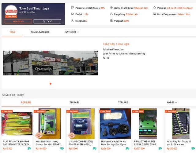 Toko Perkakas di Shopee-Shopee.co.id