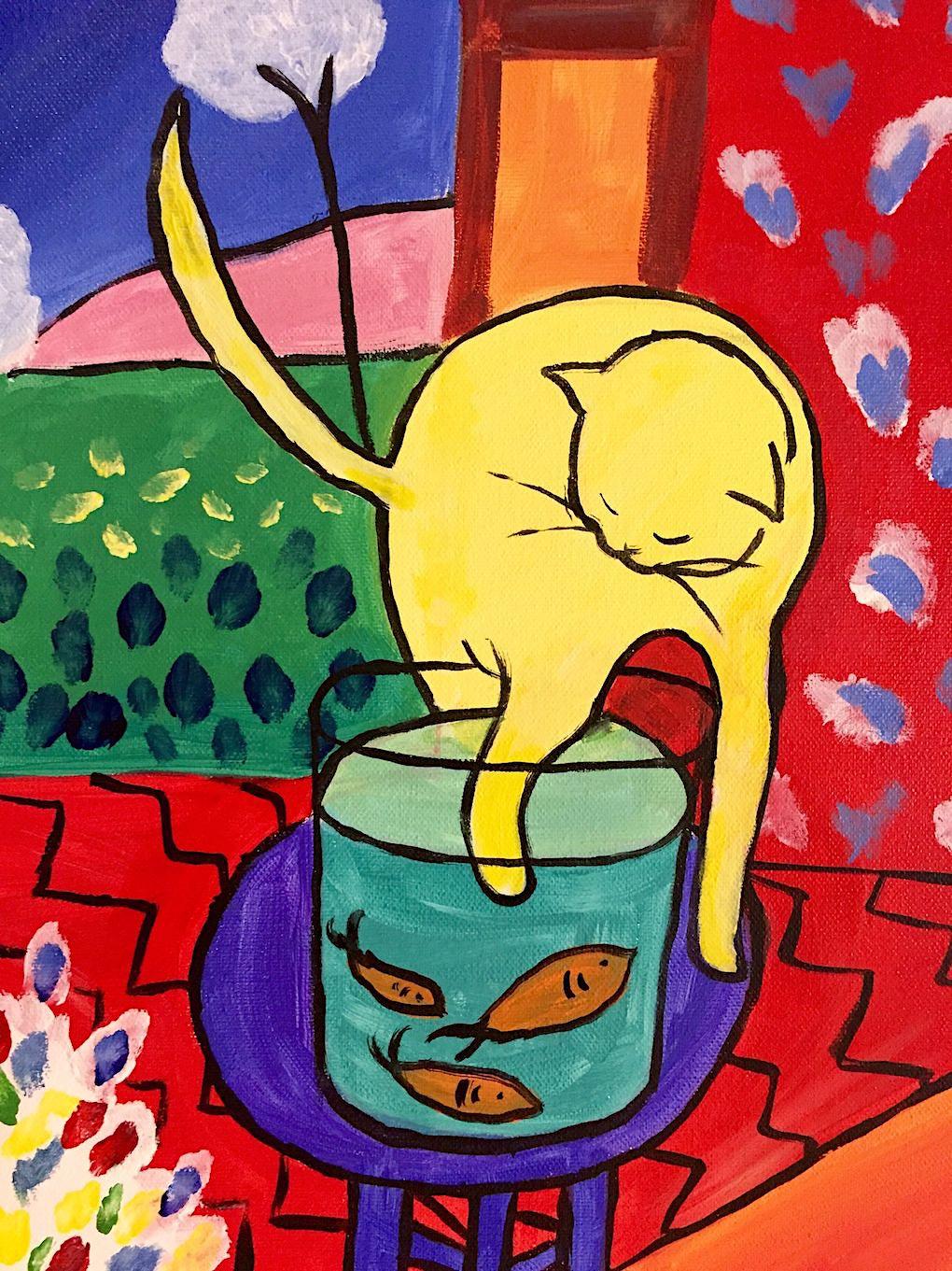 A Still Life Collection Henri Matisse 1869 1954 Chat Aux Poissons Rouges
