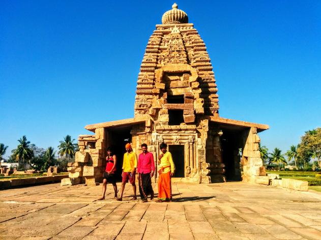 The stunning Pattadakkal temple complex, Karnataka