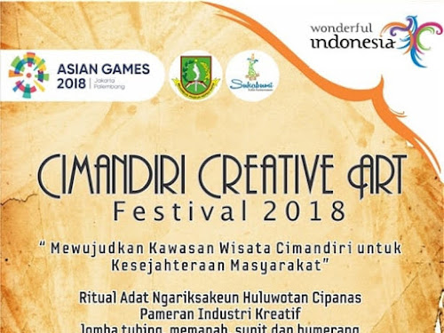 Cimandiri Creative Art Festival 2018