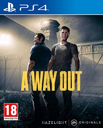 PS4 Games Download 2018: A Way Out PS4 (PKG)
