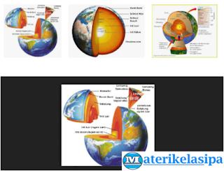 Struktur Penyusun Lapisan Bumi