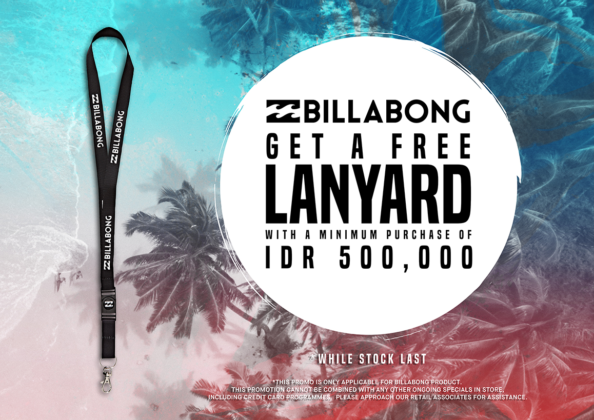 Eirs Distribution Get A Free Billabong Lanyard With Minimum
