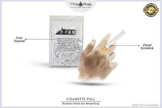 Alat Sulap Cigarette Pull - Menghilangkan Rokok - Uzop Magic Shop