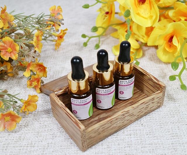 Review Skine87 White Radiance Vit C Serum