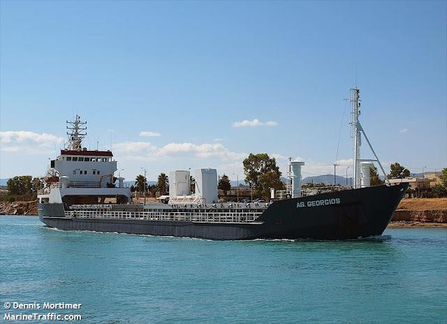 Πρόσκρουση πλοίου σε βραχονησίδα στη Μονεμβασιά