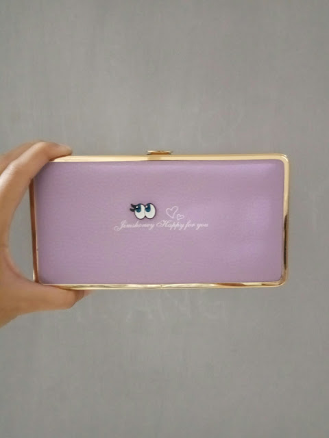 Jims Honey Abbey Wallet warna ungu