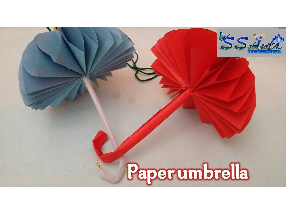 Here Is Images For How To Make Paper Umbrellahow Umbrella