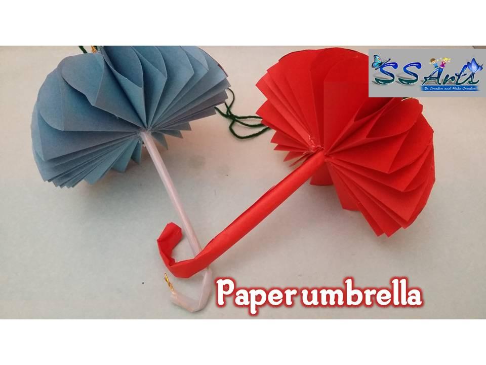 Umbrella Craft Ideas For Kids Part - 44: Here Is Images For How To Make Paper Umbrella,how To Make Paper Umbrella For
