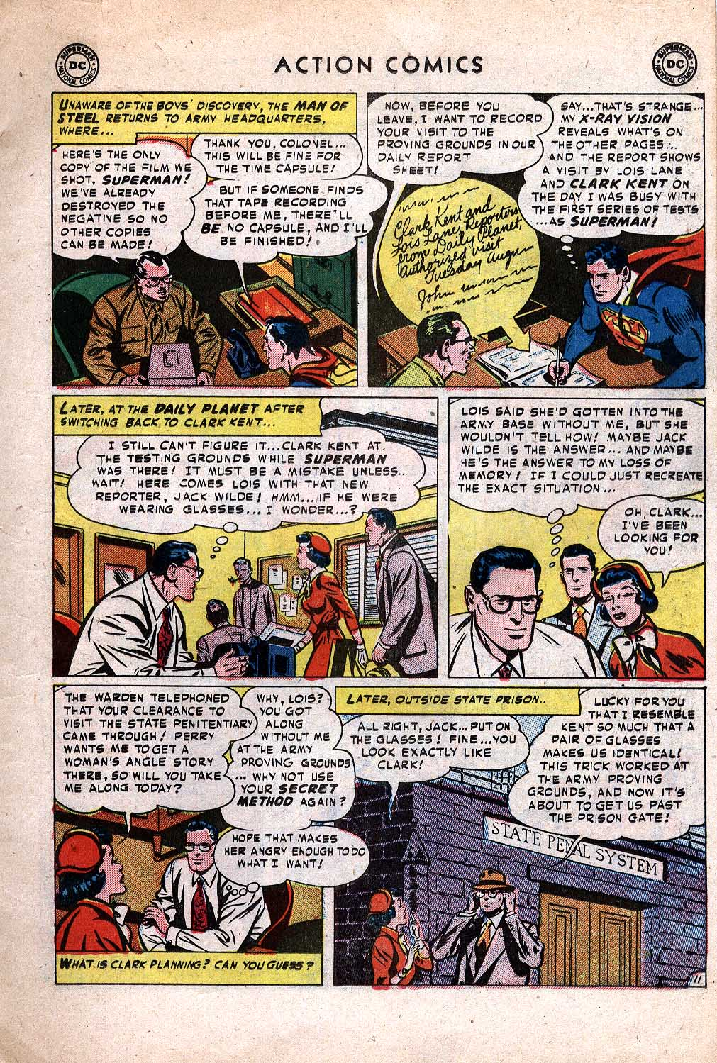Action Comics (1938) 171 Page 11