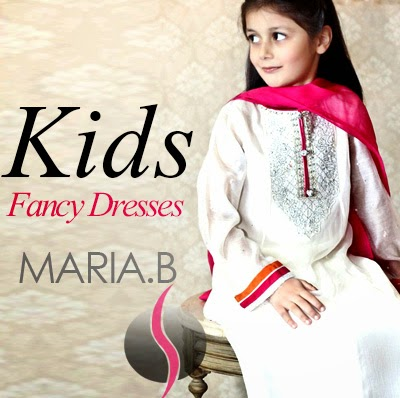 Kids Embroidered Dresses by Maria-B - Fancy Designer for Little Girls 8a16ea4461d