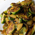 Spicy Asian Pear Saute Brussel Sprouts