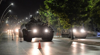 Turkey military coup, July 2016