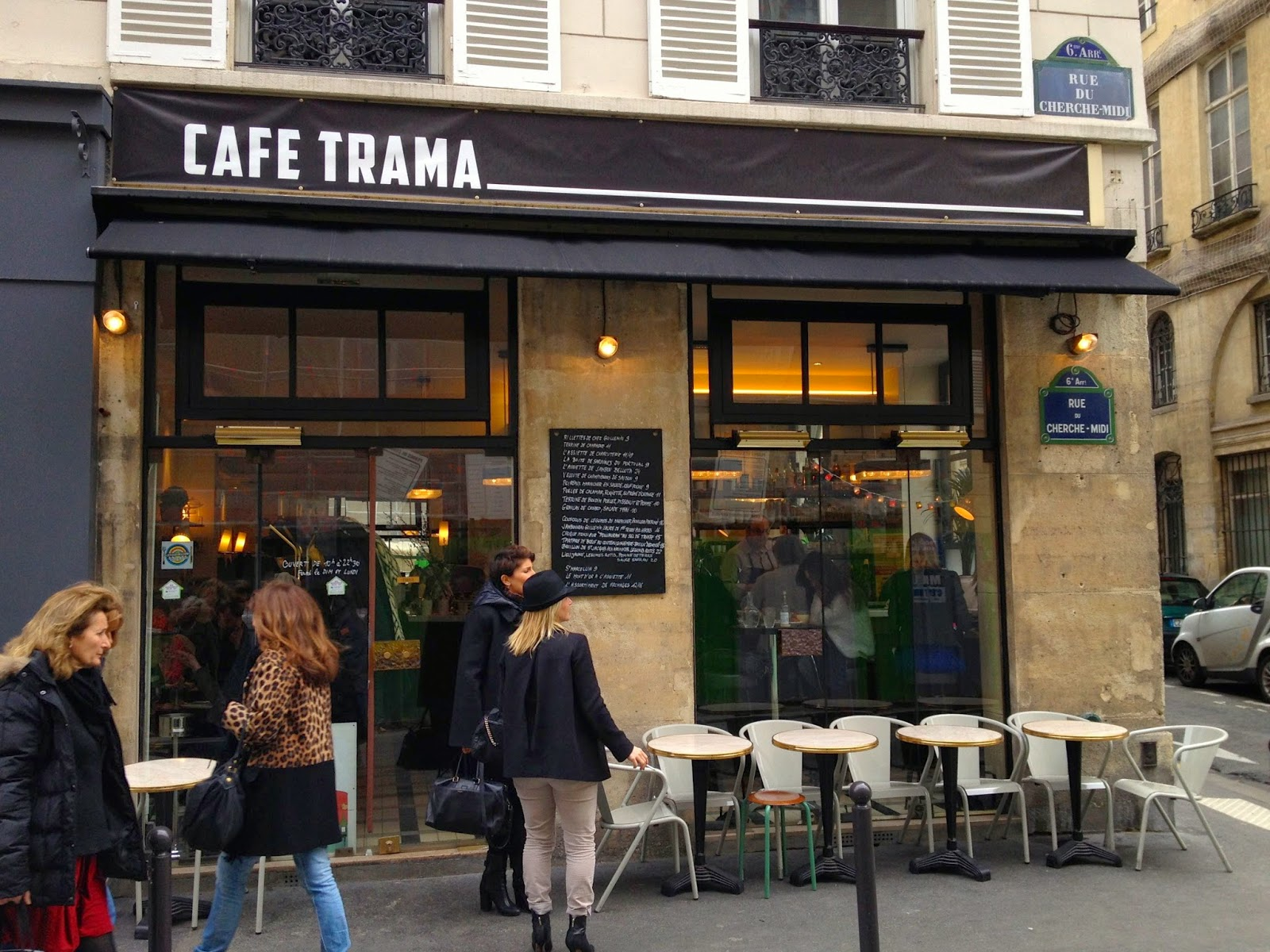 Cafe Trama Paris