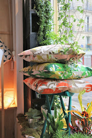 Collection Roof Garden / Textile / Heather Moore / Atelier rue verte /