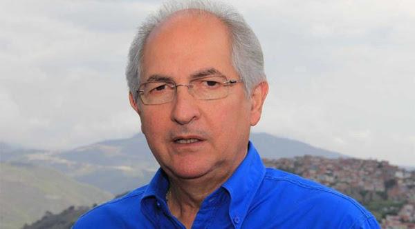 Antonio Ledezma reclamó la intervención extranjera hacia Venezuela