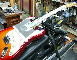 Stratocaster refret