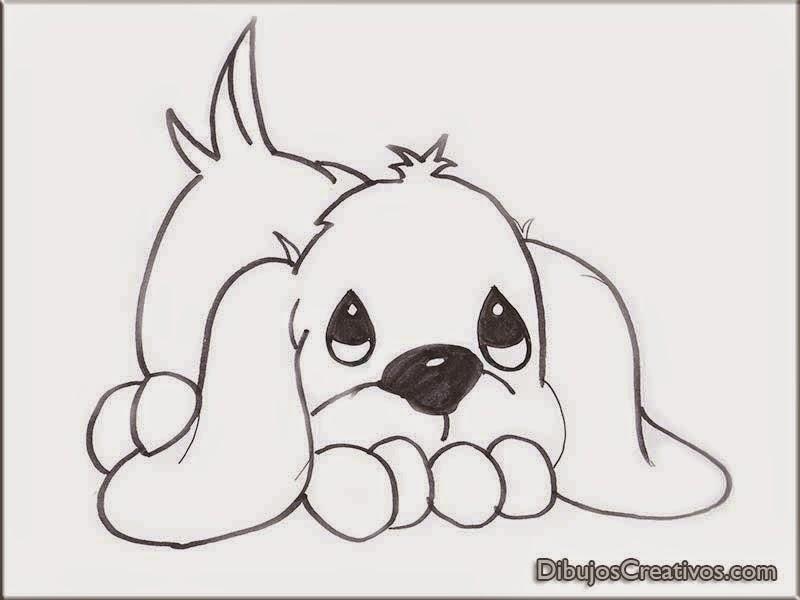 Dibujos Para Colorear De Lindo Cachorro Imágenes Dibujos