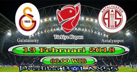Prediksi Bola855 Galatasaray vs Antalyaspor 13 Februari 2018