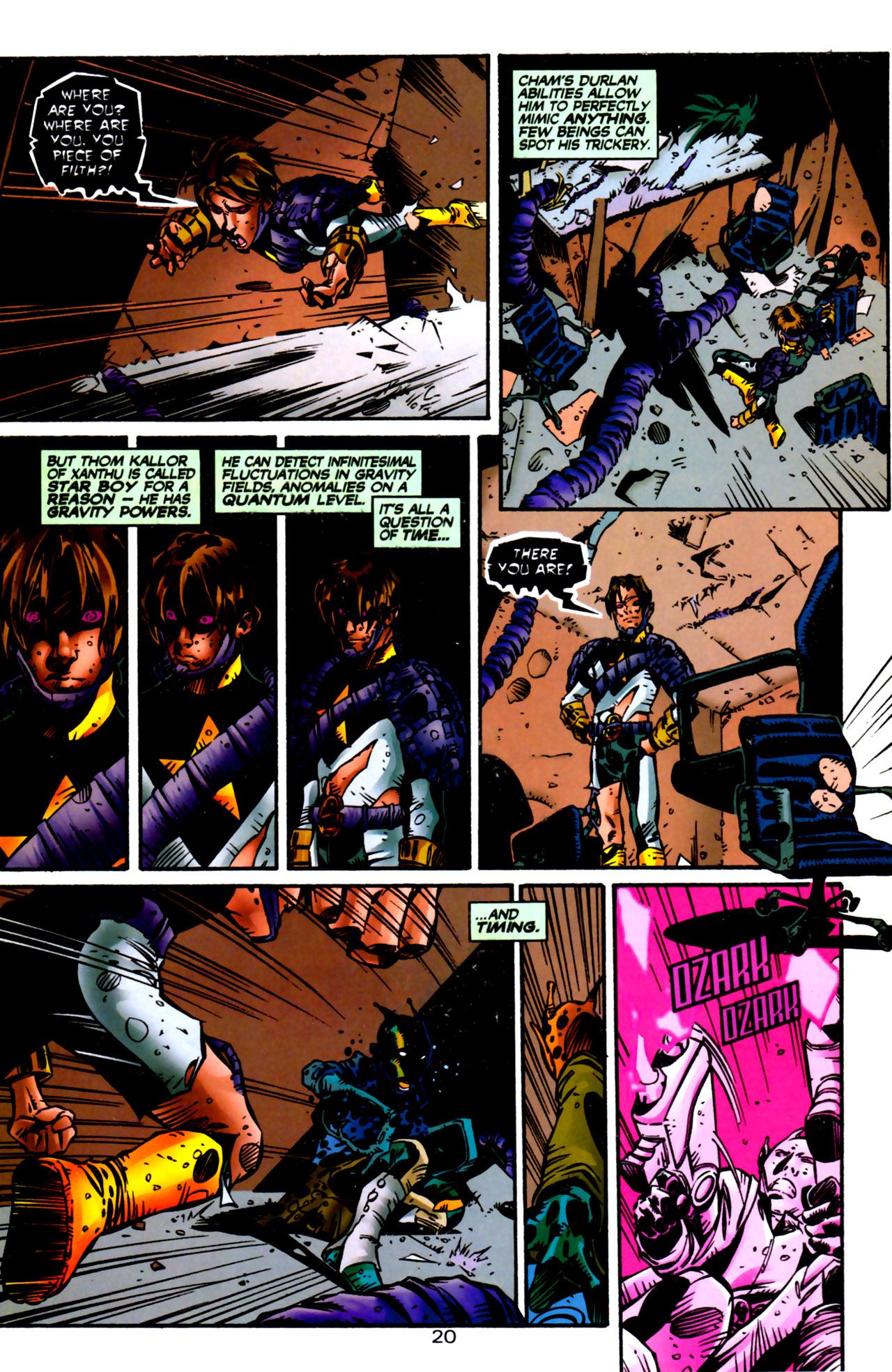 Legion of Super-Heroes (1989) 122 Page 19
