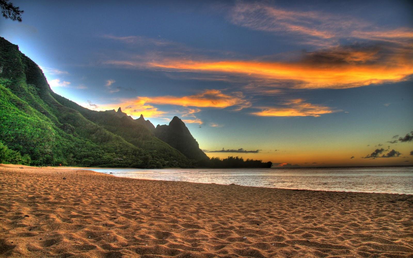 Beach Wallpaper Backgrounds Beach Sunset Photography Effect Wallpaper