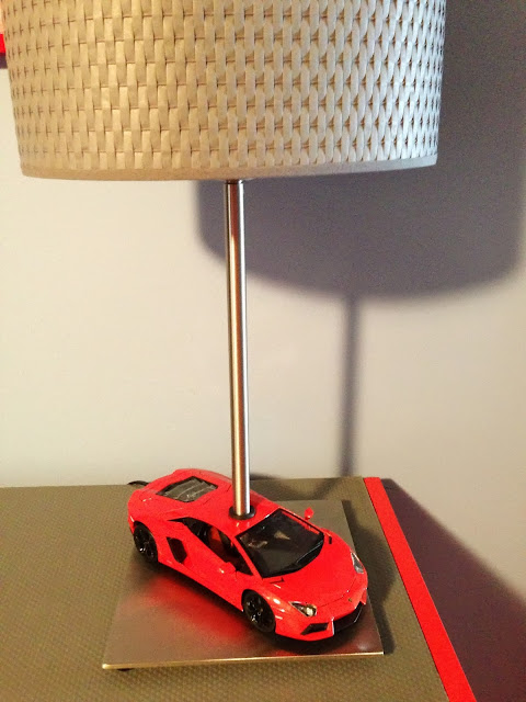 Car themed dresser and car lamp  IKEA Hackers