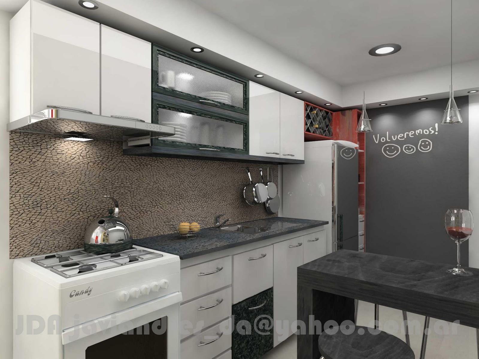 Arquitec maquetas remodelaci n de cocina dise o 3d - Diseno 3d cocinas ...