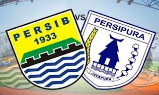 Prediksi Persib vs Persipura - Liga 1 Sabtu 18 Mei 2019