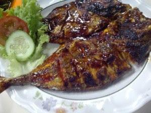 Resep ikan kembung bakar